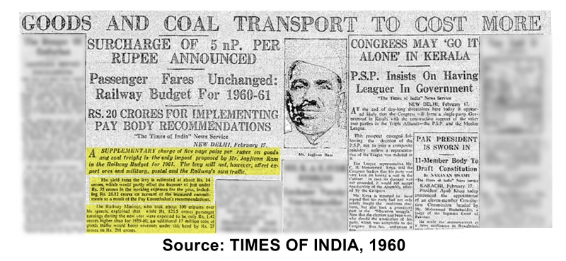 Goods And Coal Transport TO Cost More