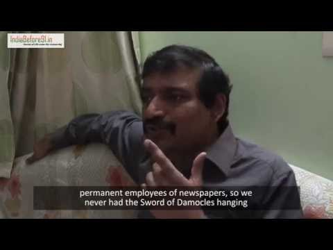 "The rise of ""news"" as commodity since 1991: K G Suresh"